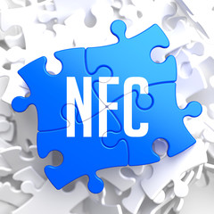 NFC on Blue Puzzle.