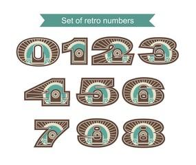 Set Of Retro Numbers