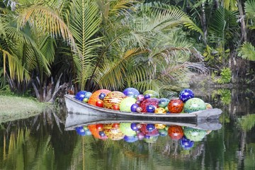 Farichild gardens - Chihuly exhibit