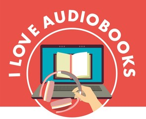 I love audiobooks concept