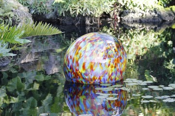 Fairchild Gardens - chihuly exhibit