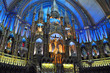 Altar of Montreal Notre-Dame Basilica, Montreal, Quebec
