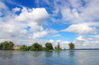 canvas print picture - Schwerin lake, Germany