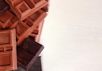 cornice di cioccolato