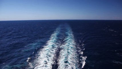 A Ship's Wake