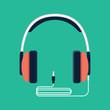 Headphones with jack plug