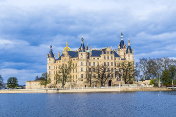 famous schwerin castle , Germany