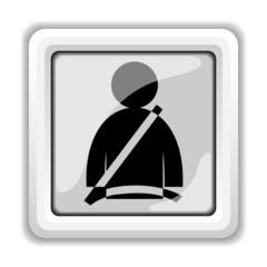 Safety belt icon