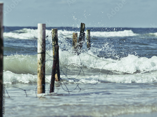 canvas print picture Am Meer
