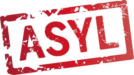 roter stempel asyl