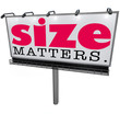 Size Matters Billboard Biggest Large Choice Most Successful Impo