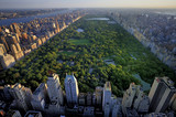 Fototapety Central Park aerial view, Manhattan, New York; Park is surrounde