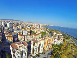 Luxury waterfront properties at Kartal region in Istanbul