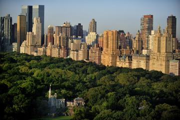 New York Manhattan at Sunrise - Central Park View