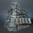Press, typescript