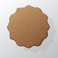 Grunge circle stamp background textures