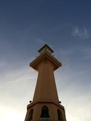 Unique minaret of mosque