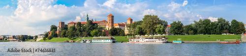 Wawel castle in Kracow - 74616831