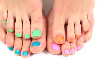 women feet (pedicure)