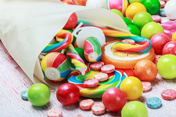 sweets and chewing gum