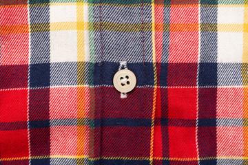 Retro Casual Man Shirt Closeup