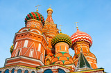 Fototapeta St. Basil's Cathedral on Red square in Moscow, Russia