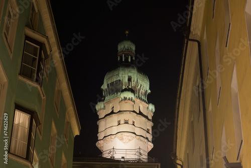 canvas print picture Innsbrucker Stadtturm