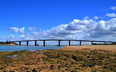 pont de Noirmoutier vu de fromentine