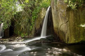 Cascata, fonte, acqua, ruscello, fiume