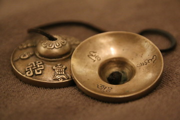 Tingsha bells of tibet