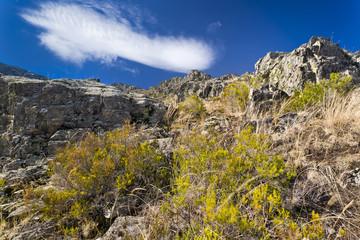 Riscos en la Tiñosa. Sierra Norte