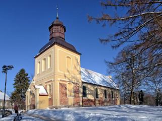 Church of Sts. Jacob in Oliwa, Poland.