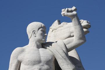 Statua Guerriero
