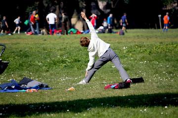 Gente impegnata nello Sport