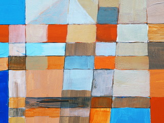 a detail from an abstract painting