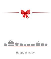 Schleife Geschenke Geburtstag