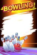 bowling poster - 74628260