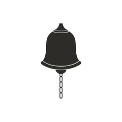 Vector Illustration of a Bell