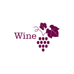Vector Illustration of a Wine Icon