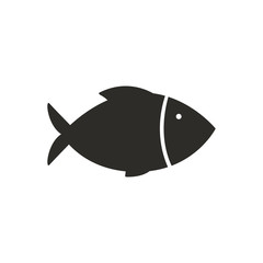 Vector Illustration of a Fish Icon