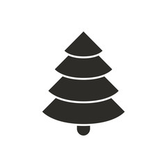Vector Illustration of a Fir Icon