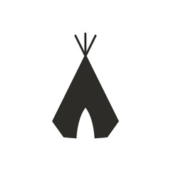 Vector Illustration of a Wigwam Icon