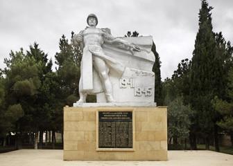 Monument to the dead of World War II in Mehemmedi