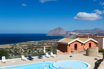 View of San Vito lo Capo