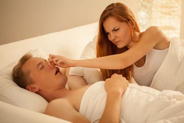 Way to stop snoring