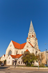 Lutheran Church of Saint Matthew (1928) in Lodz, Poland