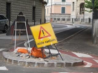 italian roadwork