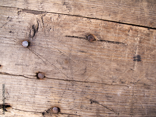 canvas print picture plank with tacks
