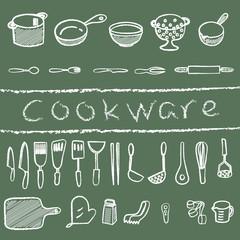 cookware chalk