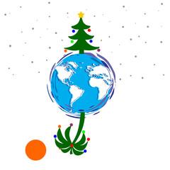 christmas north and south